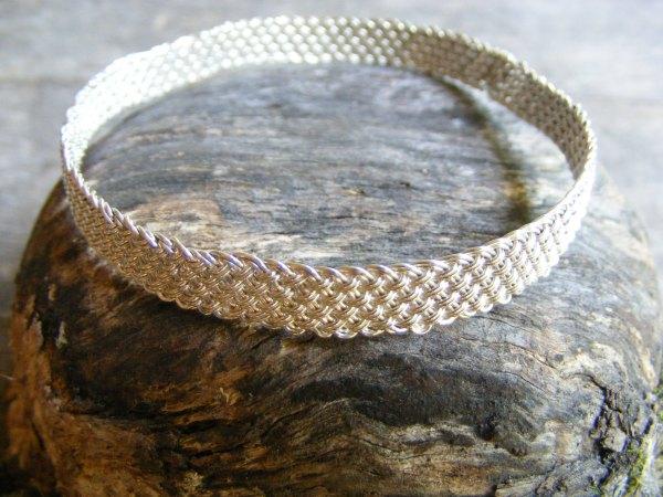 Weave Bangle Bracelet
