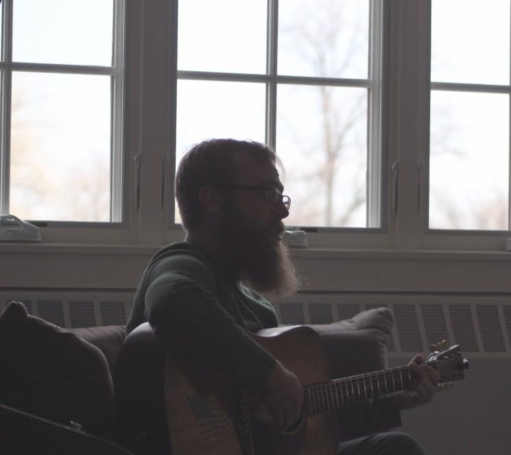 David Jensen playing at Music District