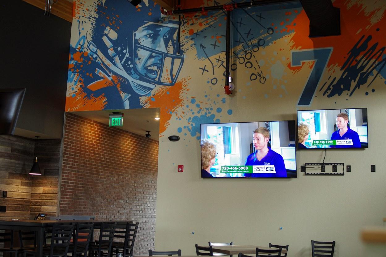 The GOAT sports bar