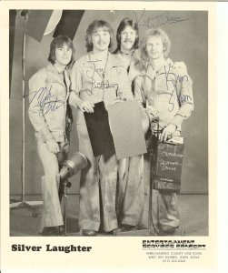 Silver Laughter publicity photo
