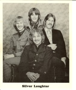Clockwise from left: Kim, Mick, Ken and Jon in front.