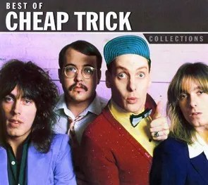 Close encounter with Rick Nielsen of Cheap Trick.