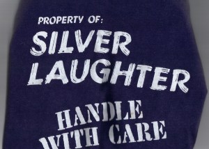 Silver Laughter T-Shirt for sale on EBAY!
