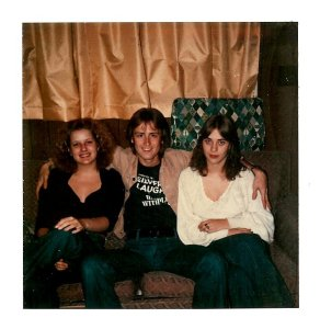 Mick with two friends from Brainerd