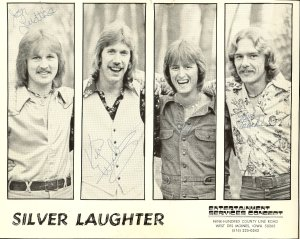 Autographed Silver Laughter Promo