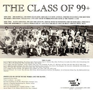 Class of 99 Back Cover