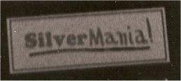 Original Silvermania sticker