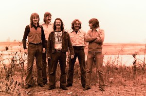Silver Laughter - 1975 - Jon, Ken, Carl, Paul and Mick