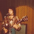 Mark on stage with Silver Laughter in Hastings NE 1975