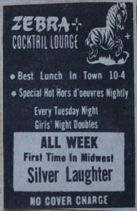 Zebra Lounge ad