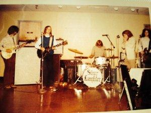 Silver Laughter around 1974 - John, Jon, Kim, Denny and Steve