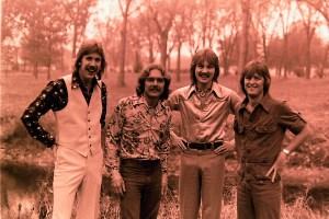 Silver Laughter 1975 - Ken, Paul, Jon and Mick