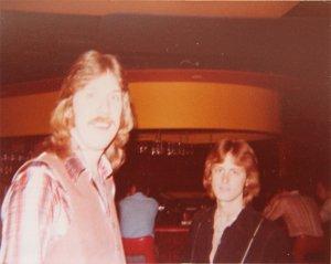 Ken and Mick between sets