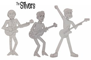 The Silvers - Tom, Mick and Ricky with a drummer to be named later!