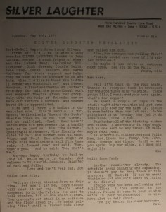 Newsletter -1977 May -p1