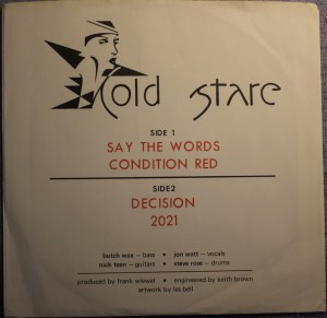 Front Cover - Cold Stare