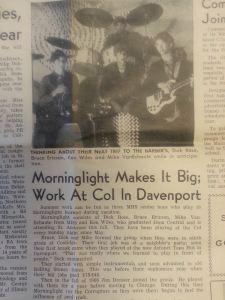 Morninglight Article
