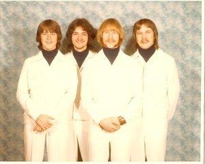 Silver Laughter 1975 - Mick, Mark, Kim and Jon