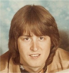 Mick Orton from a promo photo of  Silver Laughter 1976