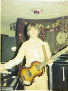 Mick with Hugh Hofner NYE '77