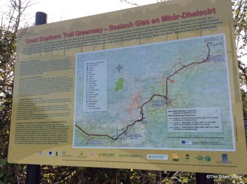 Map of Great Southern Trail