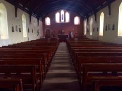 Edeninfagh Church looking towards altar