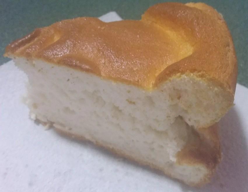 Diet Angel Food Cake Slice