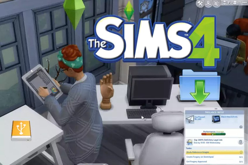 The Sims 4 All in One Portable 1.51.75.1020 Freelancer