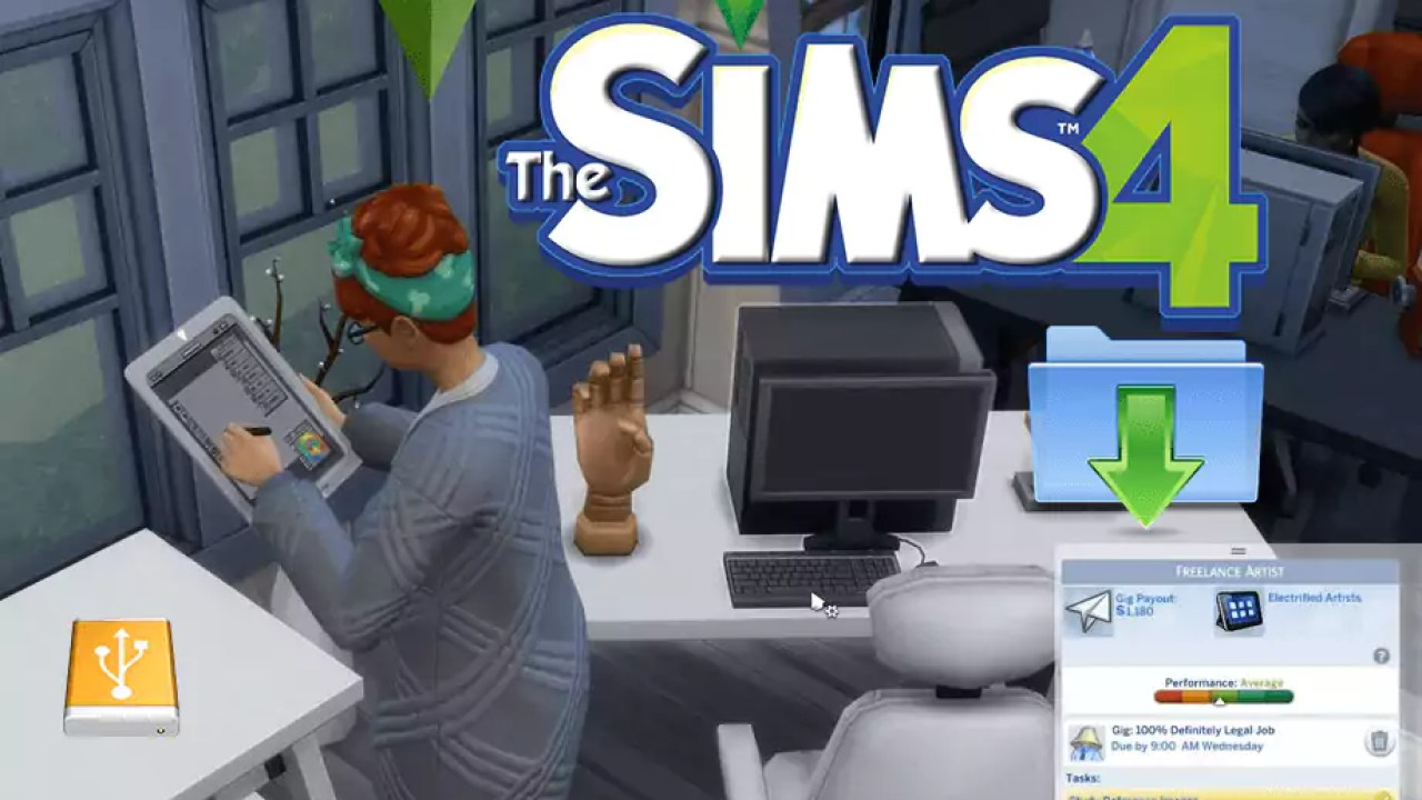 The Sims 4 1 48 94 Download Christmas and Yeti Update G4TW