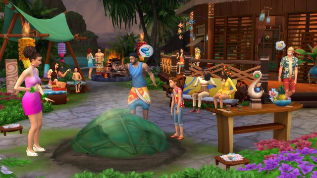 The Sims 4 Island Living All in One Customizable 1.52.100.1020 [Anadius] - The Sim Architect