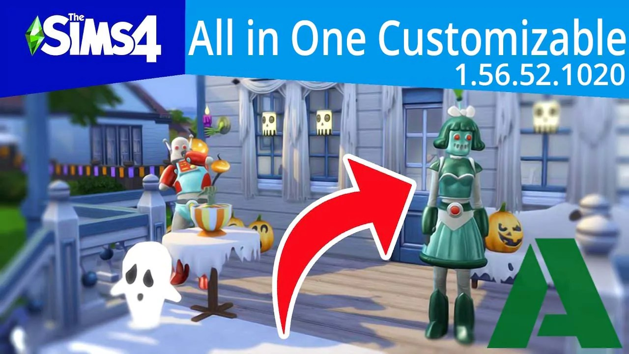 The Sims 4 1.56.52.1020 All in One Customizable