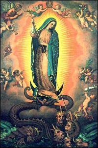 mary and satan
