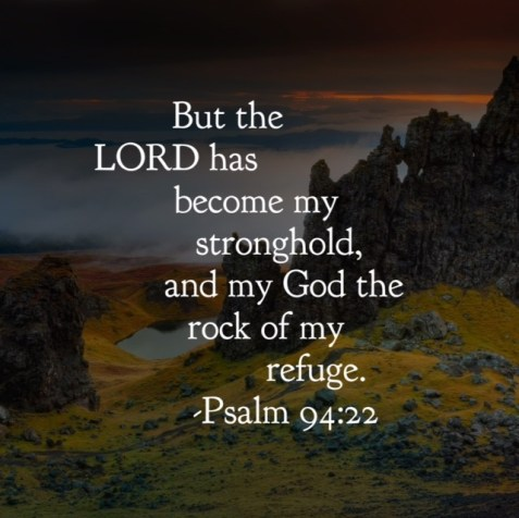 Lord is my rock and refuge