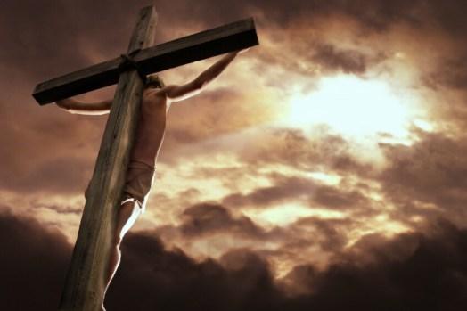 Jesus at Golgatha