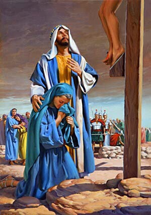 Mary at Foot of Cross