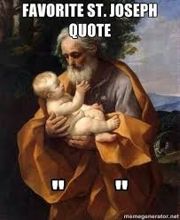 silence of St Joseph