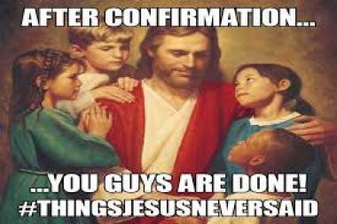Confirmation Catholic Meme