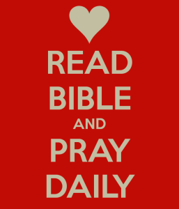 Pray Daily Read Bible Daily