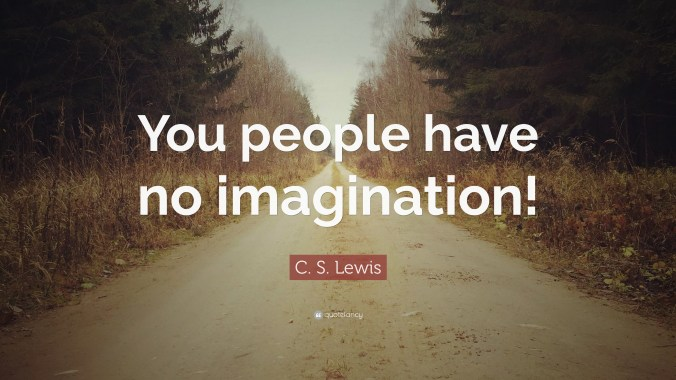 cs lewis imagination quote
