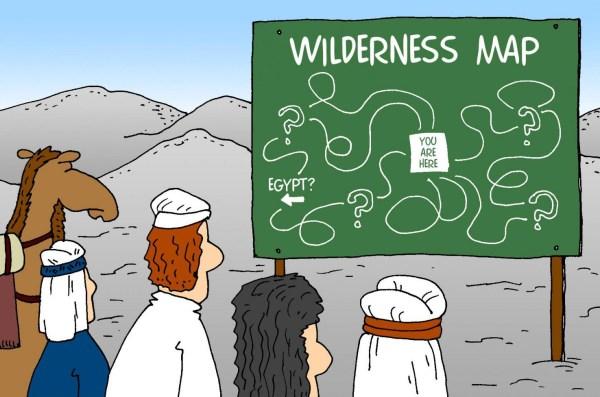 wandering in wildnerness