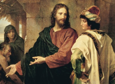 Jesus and Rich Young Man