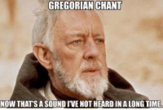 gregorian chant meme