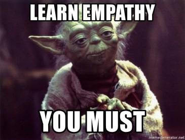 Learn empathy meme