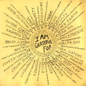 consistently grateful