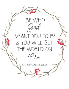 Catherine of Siena Set World on Fire