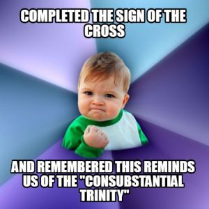 Sign of the Cross Meme