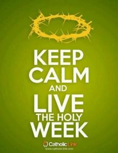 Live Holy Week