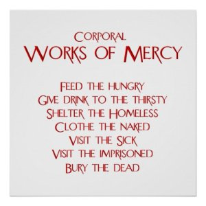 Corporeal works of mercy