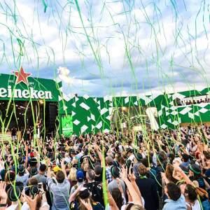 Heineken Saturday at Formula 1 – The line up