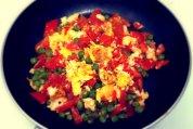 Eggs, Peas, & Peppers